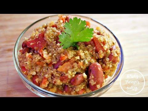 How to Make Quinoa Spanish Style