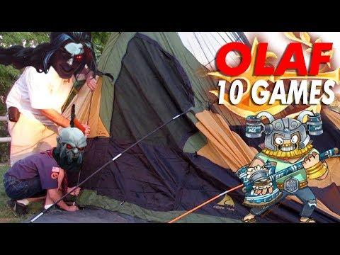 PERMA CAMPED - trmplays 10 GAMES OF OLAF TOP (Plat 2)