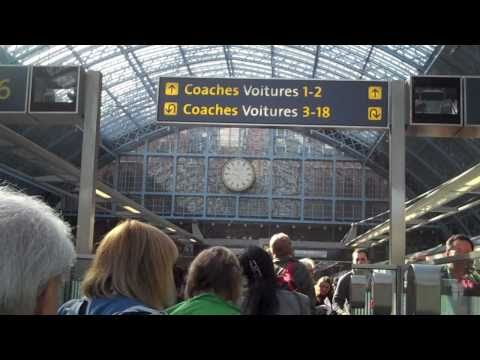 London St Pancras to Paris, Gare de Lyon