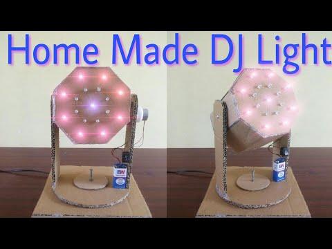 How to make DJ LIGHT ,Moving  light