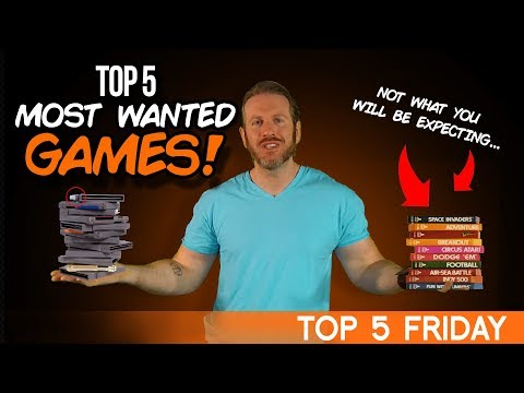 Top 5 Most Wanted Games - Top 5 Friday