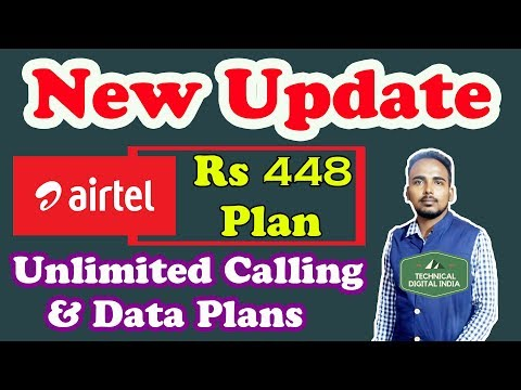 Airtel Revamps Rs 448 recharge plans with more validity and Data Plan to take on Jio