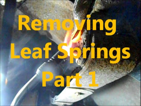 Leaf Spring Replacement - part1