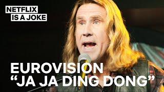 Eurovision | Ja Ja Ding Dong Full Song | Netflix Is A Joke