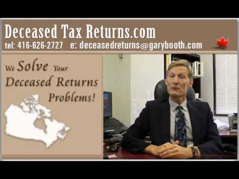 Clearance Certificate & Deemed Disposition (416-626-2727), deceased-tax-returns-canada.com
