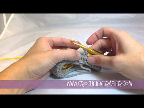 Creating a Single Crochet Invisible Straight Seam In The Round Tutorial