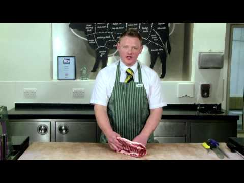 Quality Standard Butchers - Paul Nicholson - Rack of Lamb for Simply Beef and Lamb