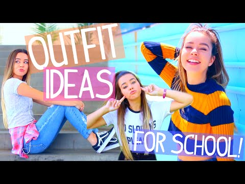 Outfit Ideas For School! 8 Easy & Cute Back To School Outfits!