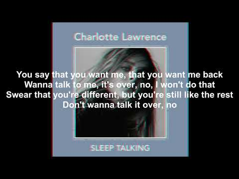 Charlotte Lawrence - Sleep Talking Lyrics