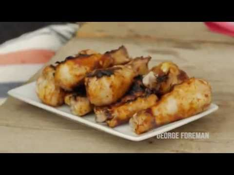 George Foreman Indoor/Outdoor Grill Recipes | How to Make Delicious Grilled Buffalo Wings