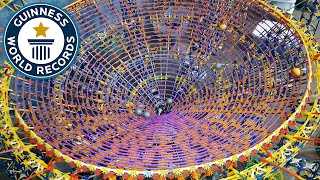 Download Largest K'NEX ball contraption - Guinness World Records Video