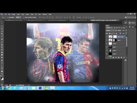 Lionel Messi Speed Art - Photoshop