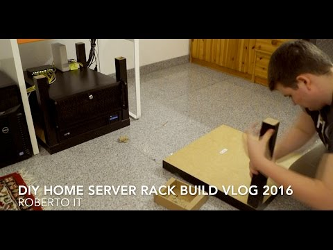 DIY Server Rack Build VLOG