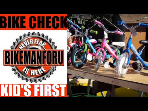A Kid's First Bike - How To Choose - Holiday Buyers Guide - BikemanforU
