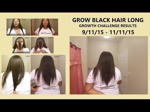 Grow Black Hair Long Fast (Anyone Can Grow) - 8 Week RESULTS