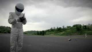 The Stig controls a drone - Top Gear magazine