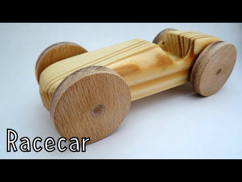 Wooden toys for charity - Racecar | How To Woodworking