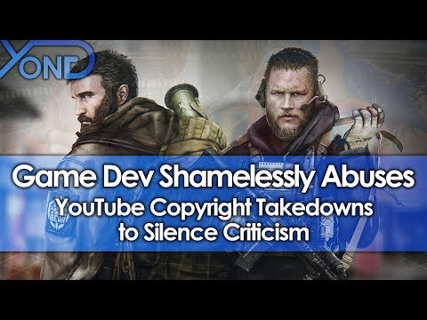 Game Dev Shamelessly Abuses YouTube Copyright Takedowns to Silence Criticism
