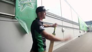 Kevin Pietersen tours the MCG and Stars