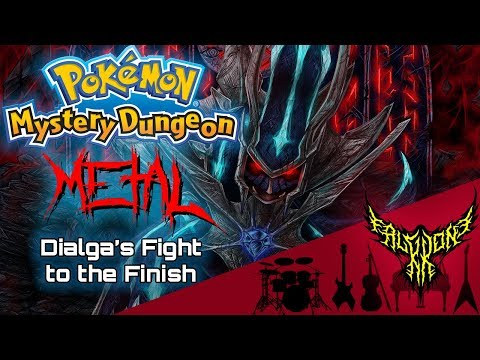 Pokémon Mystery Dungeon 2 - Dialga's Fight to the Finish 【Intense Symphonic Metal Cover】