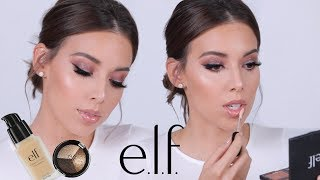 FULL FACE USING ONLY E.L.F MAKEUP TUTORIAL   ELF DID THAT!