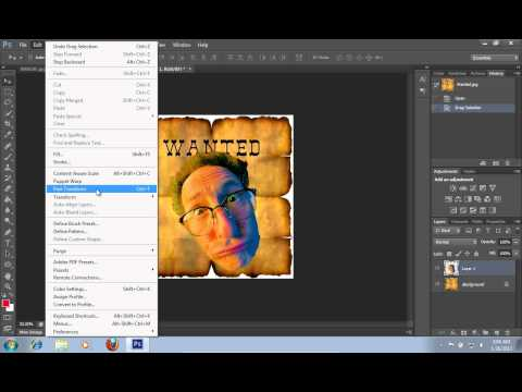 How to Make a Wanted Poster in Photoshop CS6