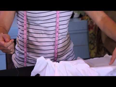 Making Curtains & Pillows - How To Make A Ruffled Curtain