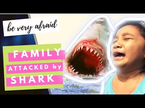Family Plays SHARK BITE! - It Attacks but we had so much fun!