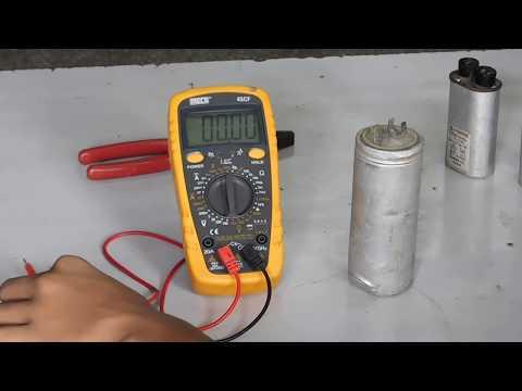 Testing of Capacitor in Hindi /कॅप्यासिटर की जांच