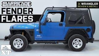 Jeep Tj Barricade Tube Fender Install Extreme Terrain Flat