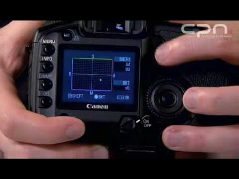 Canon EOS 5D Masterclass in depths White balance settings (8/11)