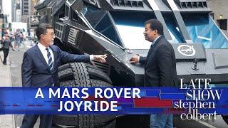 Stephen Drives NASA