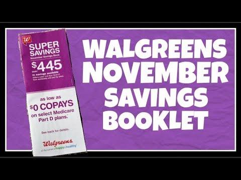 Walgreens November Savings Booklet Preview