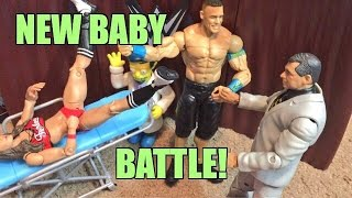 GTS WRESTLING: Cena VS Roman! WWE Mattel Figure Animation PPV Event!
