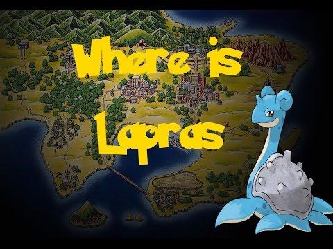 Where Is: Lapras (Gift Pokemon) (Pokemon Fire Red/Leaf Green)