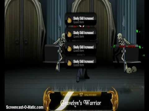 AQW getting the gravelyn's warrior badge