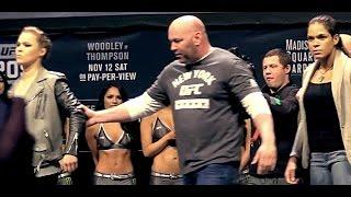 Ronda Rousey Shrugs Off Dana White After Amanda Nunes Face-off