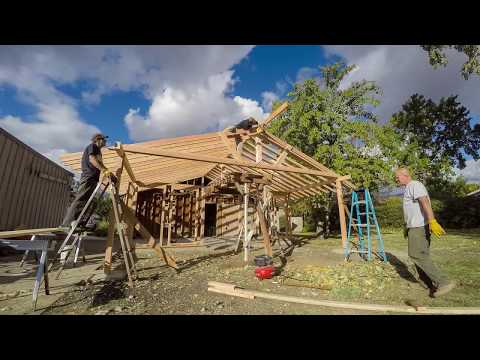 Sunroom - Rafters and Truss