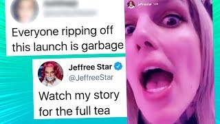 Jeffree Star Speaks Up After Seeing What Fans Did to Shane Dawson Palette