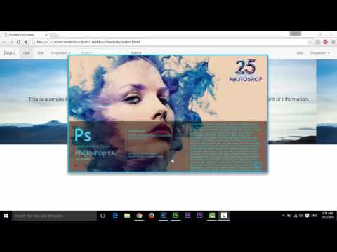 How to make Bootstrap Template in Adobe Dreamweaver CC (Part -1)