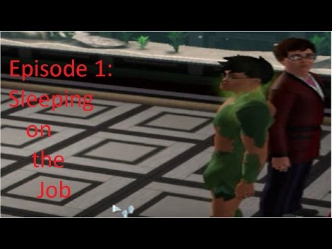 Sims Episode 1: Sleeping on the Job *READ COMMENTS FIRST