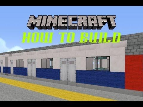 Minecraft London Underground Jubilee Train (How to Build Episode 2)
