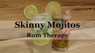 Are you watching your waistline? These are some of our favorite skinny mojito recipes! These variations will help you to cut the calories, but not the flavor! For more delicious rum recipes visit http://www.rumtherapy.com.
