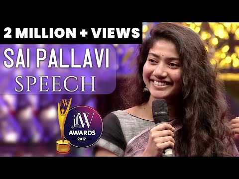 Xxx Mp4 Sai Pallavi Speech Actresses Have A Short Span In Films JFW Awards 2017 JFW Magazine 3gp Sex