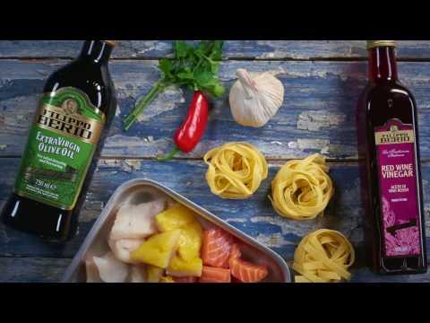 Filippo Berio Seafood and Red Wine Vinegar Pasta