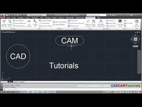 AutoCAD Circle Around Text | AutoCAD Text Inside Circle, Rectangle & Slot