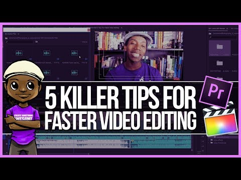 How to Edit Videos FAST! 5 Tips for Faster Video Editing!