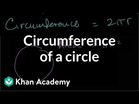 Circumference of a circle | Geometry | 7th grade | Khan Academy