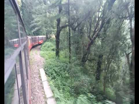 Toy Train ( शिवालिक एक्सप्रेस ) कालका से शिमला की वादियों का अद्भुत नजारा