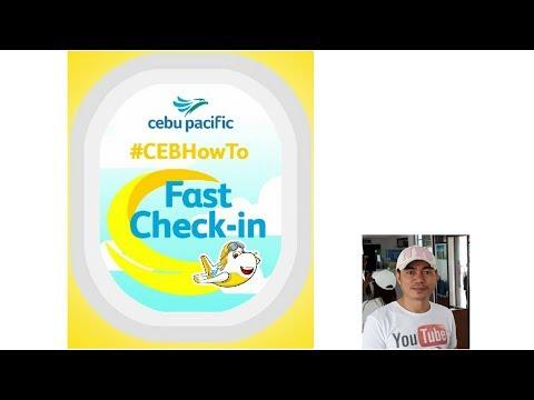 Cebu Pacific Self Check in